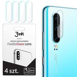 3MK FlexibleGlass Lens iPhone X Hybrid glass for the camera lens 4 pcs