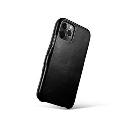 Case ICARER Vintage Apple Iphone 11 Pro Max Black Black Case