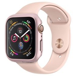 Etui SPIGEN Thin Fit Apple Watch 4/5 (40mm) Rose Gold Różowe Case