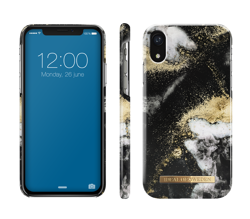 Etui iDeal Of Sweden iPhone XR Black Galaxy Marble
