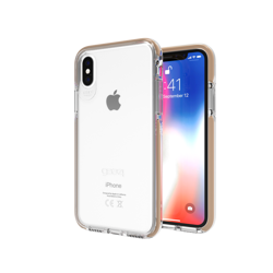 GEAR4 D3O Piccadilly - protective case for iPhone X / Xs (gold)