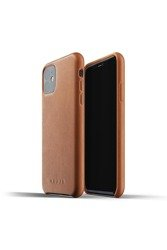 Mujjo Apple iPhone 11 Full Leather Brown Case