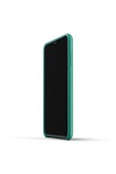 Mujjo Full Leather Case - Leather case for iPhone 11 Pro Max (green)