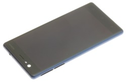 ORIGINAL LCD DISPLAY Nokia Touch 3 Blue Grade B Frame