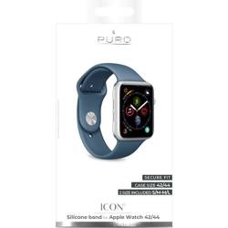 PURO ICON Apple Watch Band - Elastic Sport Band for Apple Watch 42 / 44mm (S / M & M / L) (Avio)