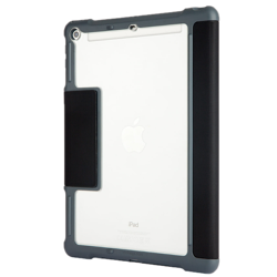 STM Dux - Protective case with a flap for iPad Air 2 (black) OEM packaging