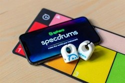 Sphero Specdrums - musical rings with an application (2 pieces)