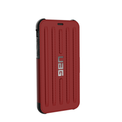 UAG Metropolis - protective case with a flap for iPhone X / Xs (red)