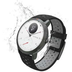 Withings Steel HR Sport smartwatch with heart rate measurement white