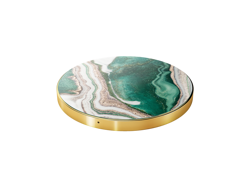 iDeal of Sweden - wireless charger with Qi technology (golden jade marble)