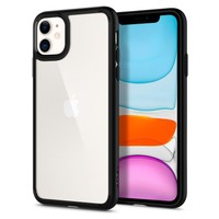 Etui Spigen iPhone 11 Ultra Hybrid Czarne Black Case Apple