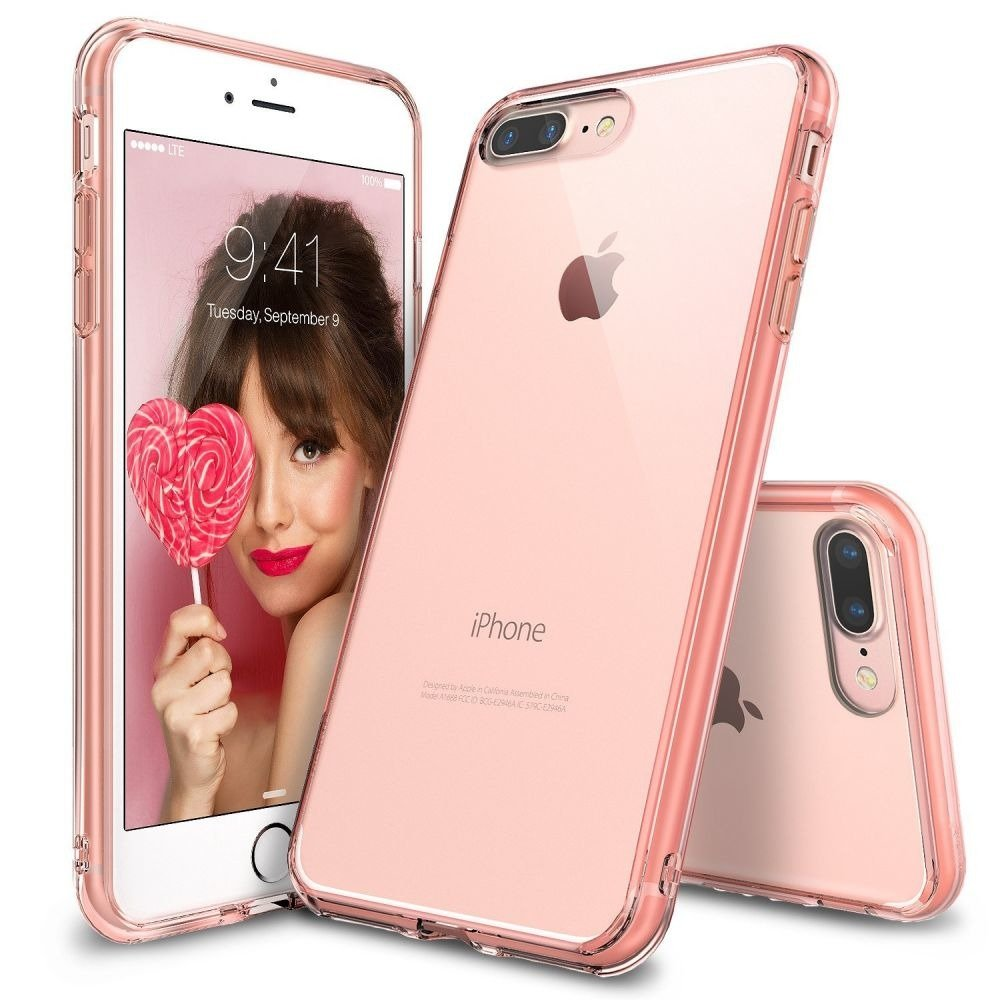 Etui Rearth Ringke Fusion Apple Iphone 7 Plus Rose Gold Pokrowce 4s Orange