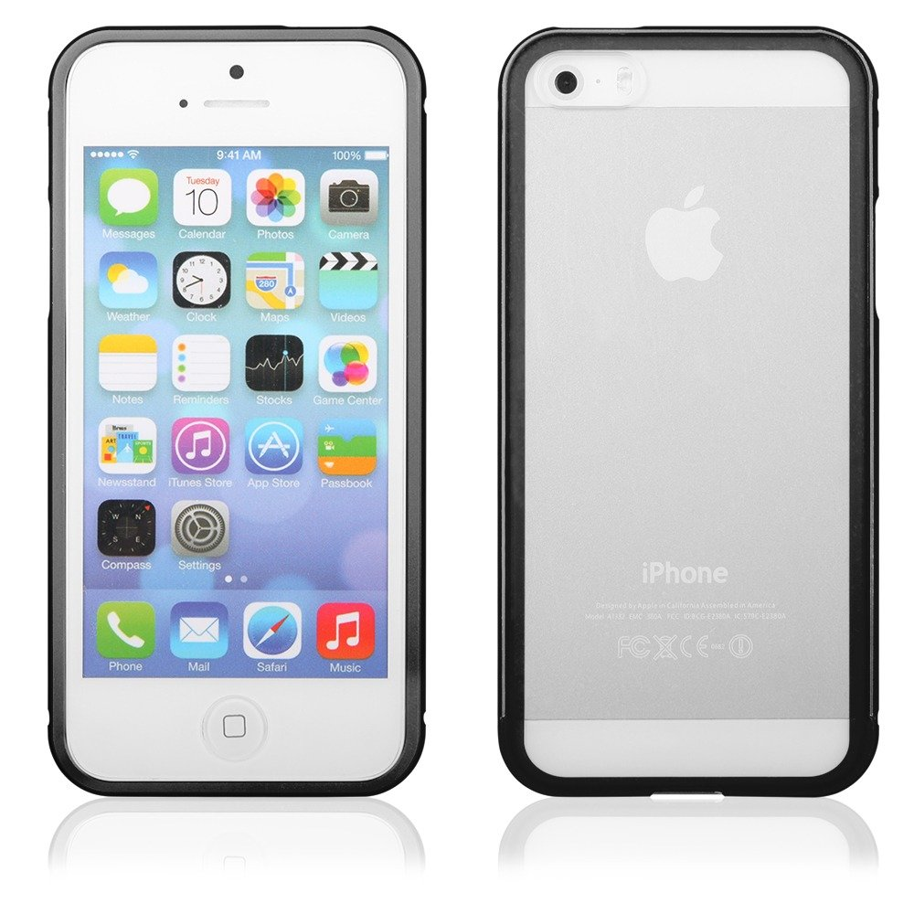 etui aluminium bumper qult luxury apple iphone 5 5s se czarny pokrowce etui futera y kabury. Black Bedroom Furniture Sets. Home Design Ideas