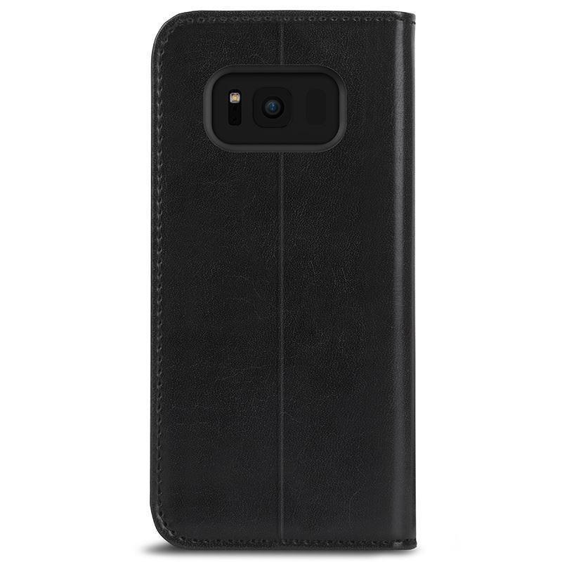 separation shoes 29028 ba210 Moshi Overture - Etui Samsung Galaxy S8 z kieszeniami na karty + stand up  (Charcoal Black)