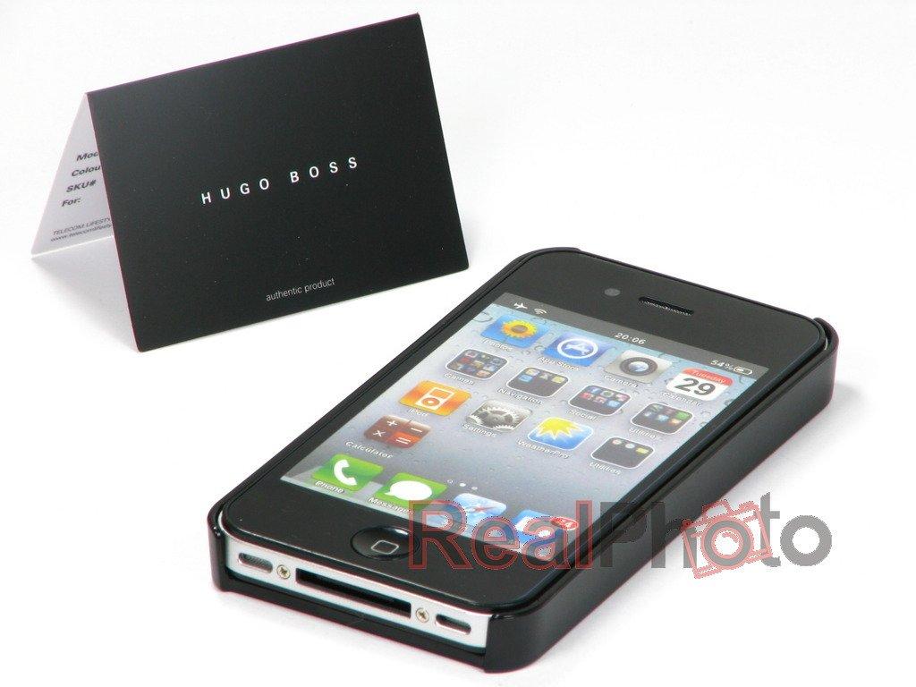 e6806fa488118 Pokrowiec HUGO BOSS Sine iPhone 4 4S SKÓRA - ✅ 4GSM.PL