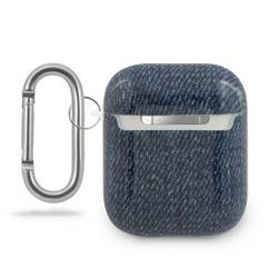 Etui GUESS Apple AirPods Cover Jeans Collection GUACA2TPUJULDB Granatowy Case