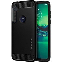 Etui SPIGEN Rugged Armor Motorola Moto G8 Plus Matte Black Case Czarne Case