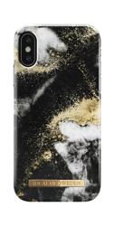 Etui iDeal Of Sweden  iPhone X/Xs (Black Galaxy Marble)