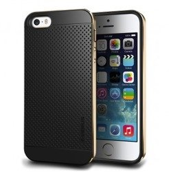 Etui iPhone 5 5S VERUS Iron Shield Gold Jak Spigen SGP Pokrowiec