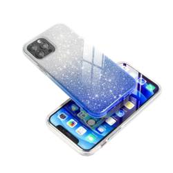 Futerał Forcell SHINING do SAMSUNG Galaxy A72 LTE ( 4G ) transparent/niebieski