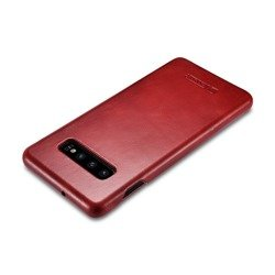 ICARER VINTAGE GALAXY S10+ PLUS RED