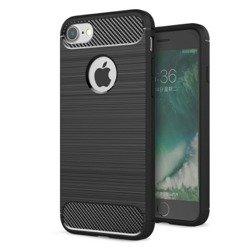 Pokrowiec Etui Apple iPhone 6 6S Carbon Silikon