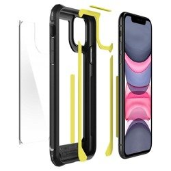 SPIGEN GAUNTLET IPHONE 11 CARBON BLACK