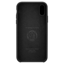 SPIGEN SILICONE FIT IPHONE X/XS BLACK