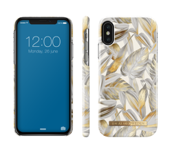 iDeal Of Sweden - etui ochronne do iPhone X/Xs (Platinium Leaves)