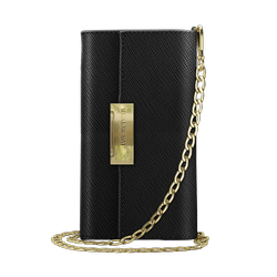 iDeal of Sweden Kensington Clutch - torebka z miejscem na iPhone X/Xs (czarna)